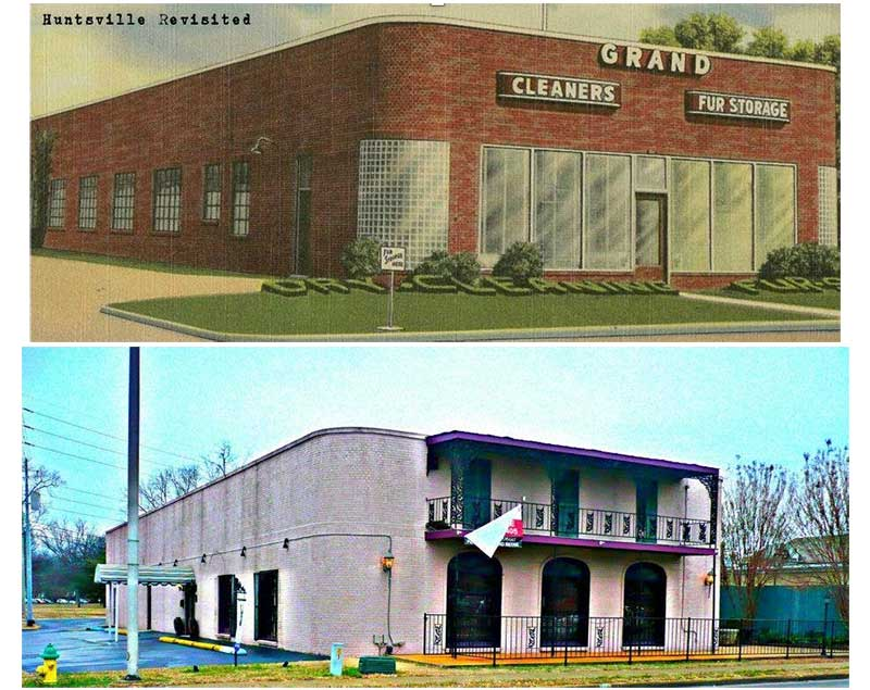 Lou Bertha Johnson and her husband Shelby Johnson owned and operated Grand Cleaners, which was  located at 801 Franklin Street.  Their original building still stands today.