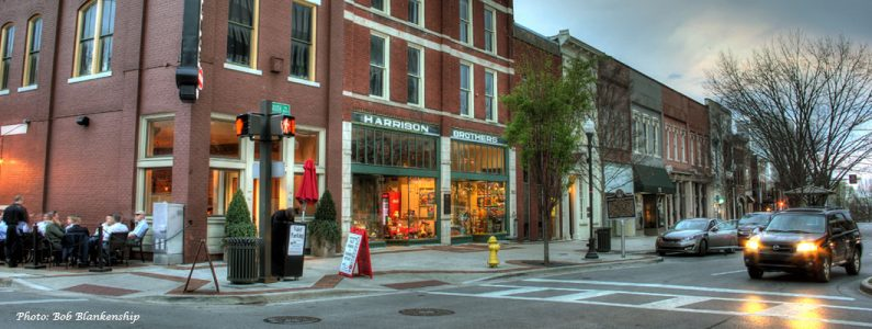 Historic Huntsville Foundation's investment in Harrison Brothers Hardware preserved Alabama's oldest hardware store and offers a destination shopping experience in downtown Huntsville.