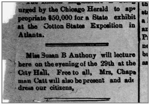 From Huntsville Weekly Democrat, January 1895.